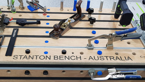 Photo of the Stanton Bench